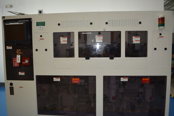 4 Plating Chambers, 2 Preclean SRD chambers, 1 Plating Tank