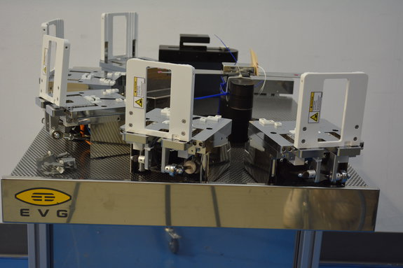 3 Station Open Cassette Handler, Genmark GB4 Robot, for EVG 620 Mask Aligner