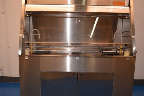 Stainless Steel Solvent Wet Bench