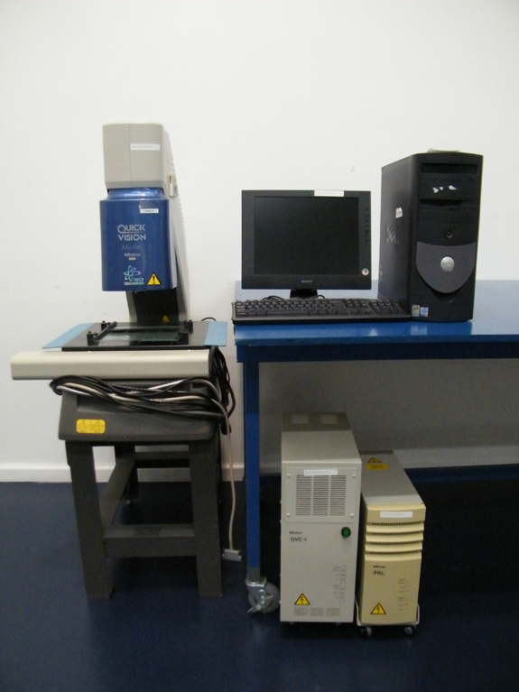 Non-Contact, 3-D Vision Measuring Machine, 0.1um Resolution